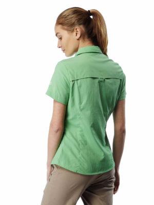 CWS435 Craghoppers NosiLife Adventure Shirt - Apple Tang - Back