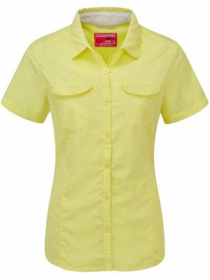 CWS435 Craghoppers NosiLife Adventure Shirt - Citronella