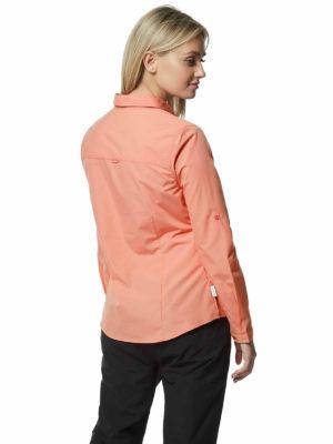CWS462 Craghoppers NosiDefence Kiwi Shirt - Rosette - Back