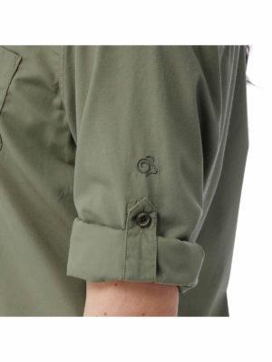 CWS462 Craghoppers NosiDefence Kiwi Shirt - Sleeves