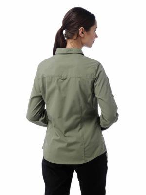CWS462 Craghoppers NosiDefence Kiwi Shirt - Soft Moss - Back