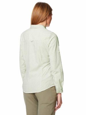 CWS467 Craghoppers NosiLife Adoni Shirt - Bush Green - Back