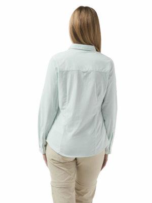 CWS467 Craghoppers NosiLife Adoni Shirt - Seaspray - Back
