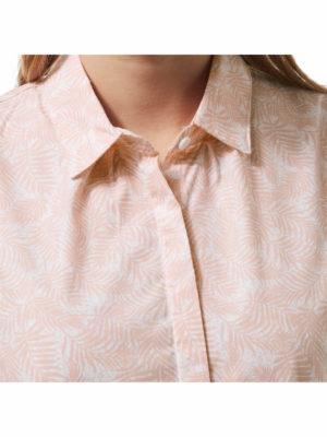 CWS476 Craghoppers NosiLife Silla Shirt - Blossom Pink Print