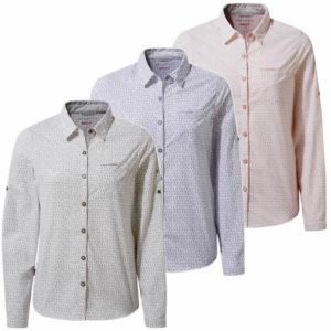 CWS491 Craghoppers NosiLife Gisele Shirt