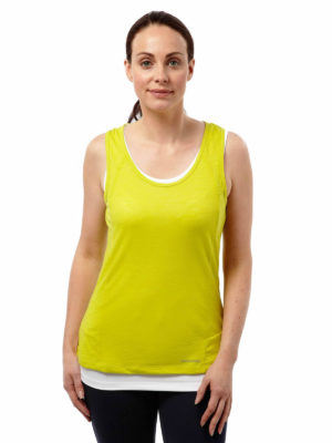 CWT1139 Craghoppers Pro Lite Vest - Spring Yellow - Front