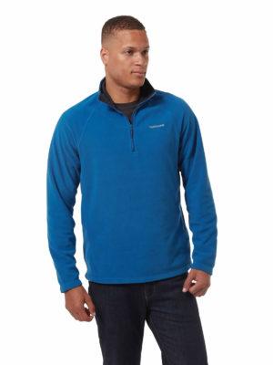 CMA1287 Craghoppers Corey Half Zip Fleece - Deep Blue - Front