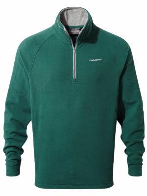 CMA1287 Craghoppers Corey Half Zip Fleece - Mountain Green