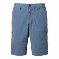 CMJ349 Craghoppers NosiLife Cargo Shorts - Ocean Blue