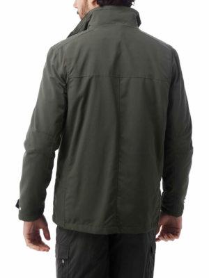 CMN180 Craghoppers NosiLife Desert RFID Jacket - Dark Khaki - Back