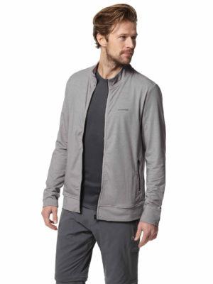 CMT877 Craghoppers NosiLife Alba Jacket - Soft Grey Marl - Front