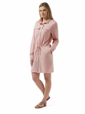 CWD003 Craghoppers NosiLife Daku Dress - Blossom Pink - Front