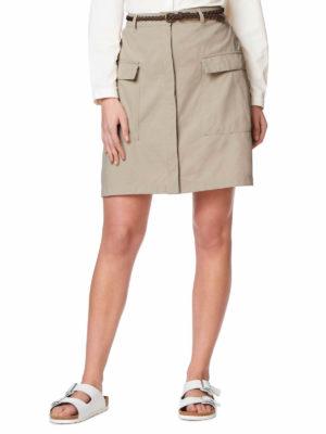 CWD007 Craghoppers NosiLife Miro Skirt - Desert Sand - Front