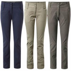 CWJ1053 Craghoppers NosiLife Clara Stretch Trousers