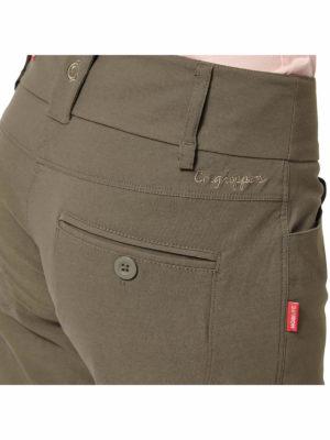 CWJ1053 Craghoppers NosiLife Clara Stretch Trousers - Back Pocket