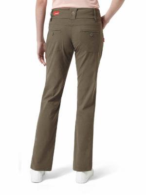 CWJ1053 Craghoppers NosiLife Clara Stretch Trousers - Litchen Green - Back