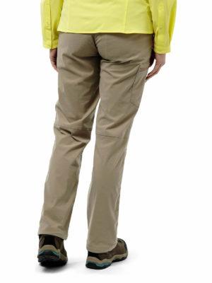 CWJ1107 Craghoppers NosiLife Pro Stretch Trousers - Mushroom - Back