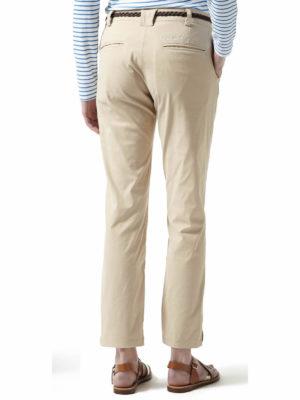 CWJ1113 Craghoppers Nosilife Fleurie Stretch Trousers - Desert Sand - Back