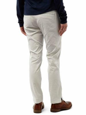 CWJ1113 Craghoppers Nosilife Fleurie Stretch Trousers - Dove Grey - Back