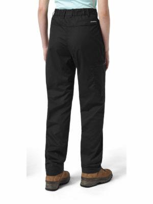 CWJ1157 Craghoppers NosiDefence Kiwi Trousers - Black - Back
