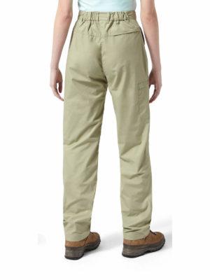 CWJ1157 Craghoppers NosiDefence Kiwi Trousers - Bush Green - Back