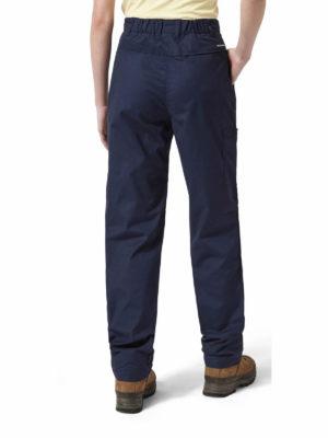 CWJ1157 Craghoppers NosiDefence Kiwi Trousers - Soft Navy - Back