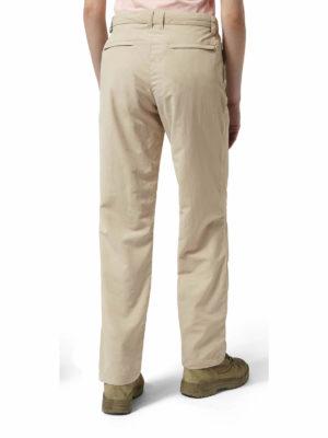 CWJ1180 Craghoppers NosiLife Trousers - Desert Sand - Back
