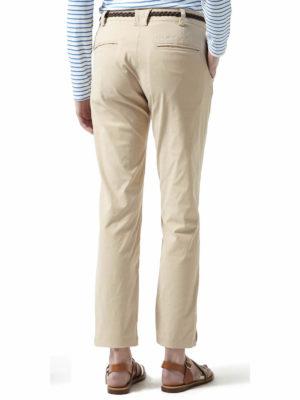 CWJ1227 Craghoppers NosiLife Fleurie Trousers - Desert Sand - Back