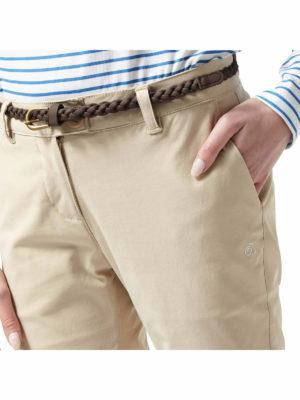 CWJ1227 Craghoppers NosiLife Fleurie Trousers - Hand Pocket
