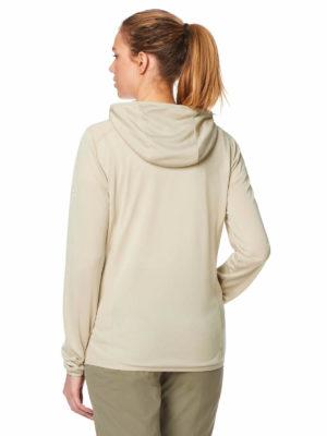CWN180 Craghoppers NosiLife Asmina Hooded Jacket - Desert Sand - Back