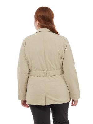 CWN234 Craghoppers NosiLife Lucca Jacket - Desert Sand - Back