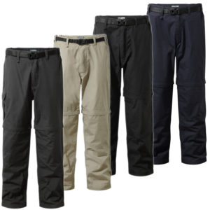 CMJ107 Craghoppers NosiDefence Kiwi Convertible Trousers