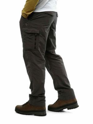 CMJ367 Craghoppers NosiLife Cargo Trousers - Bark - Back