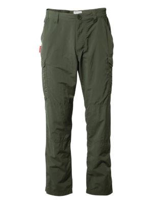 CMJ367 Craghoppers NosiLife Cargo Trousers - Dark Khaki