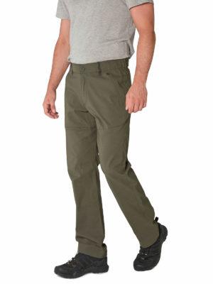 CMJ494 Craghoppers SmartDry Kiwi Pro Trousers - Dark Khaki - Front