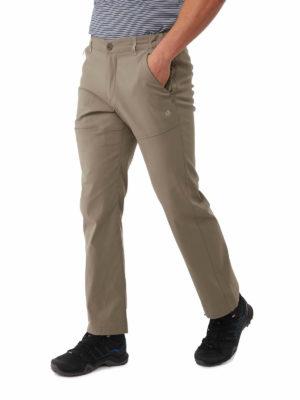 CMJ494 Craghoppers SmartDry Kiwi Pro Trousers - Pebble - Front