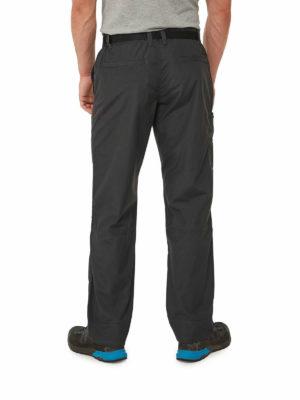 CMJ505 Craghoppers NosiDefence Boulder Trousers - Black Pepper - Back