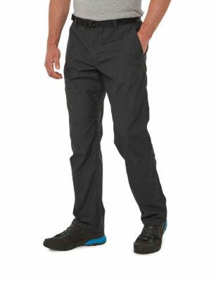 CMJ505 Craghoppers NosiDefence Boulder Trousers - Black Pepper - Front