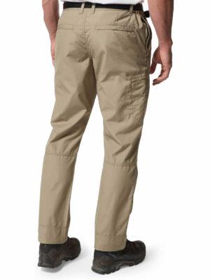 CMJ505 Craghoppers NosiDefence Boulder Trousers - Rubble - Back