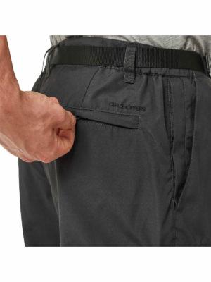 CMJ505 Craghoppers NosiDefence Boulder Trousers - Back Pocket