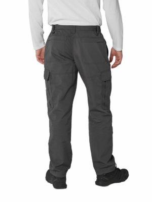 CMJ506 Craghoppers Kiwi Ripstop Trousers - Black Pepper - Back