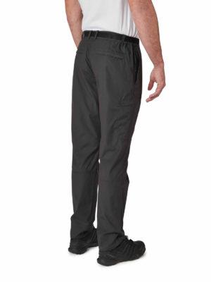 CMJ521 Craghoppers NosiDefence Boulder Slim Trousers - Black Pepper - Front
