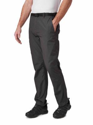 CMJ521 Craghoppers NosiDefence Boulder Slim Trousers - Black Pepper - Back