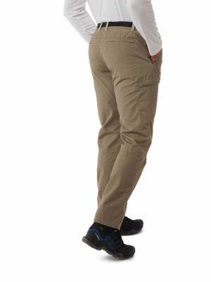 CMJ521 Craghoppers NosiDefence Boulder Slim Trousers - Pebble - Back