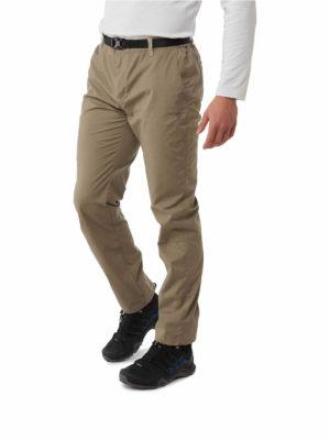 CMJ521 Craghoppers NosiDefence Boulder Slim Trousers - Pebble - Front