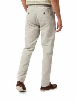 CMJ548 Craghoppers NosiBotanical Keir Trousers - Parchment - Back