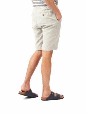 CMJ549 Craghoppers NosiBotanical Keir Shorts - Parchment - Back