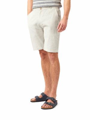 CMJ549 Craghoppers NosiBotanical Keir Shorts - Parchment - Front