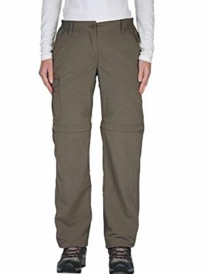 CWJ1035 Craghoppers NosiLife Convertible Trousers - Cafe Au Lait - Front