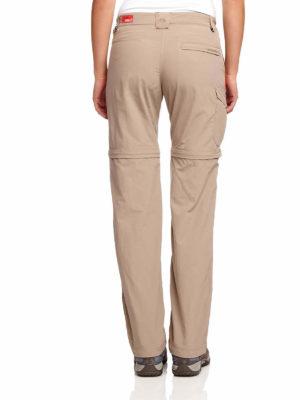CWJ1035 Craghoppers NosiLife Convertible Trousers - Mushroom - Back